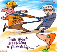 Pilbara unions stretch friendship 226