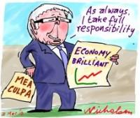 Rudd takes credit economy 226