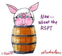 rudd pork barrel on RSPT 226