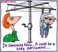 Hung parliament possible 226