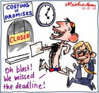 Libs miss deadline for costing 226