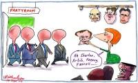 faceless men take office Gillard 600