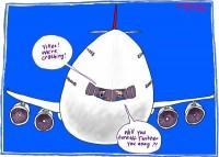 Twitter quick off mark on Qantas mishap 600
