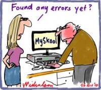 MySchool website errors ISV 226