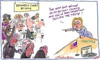 Hillary Clinton rage on WikiLeaks 600