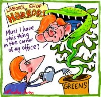 Labors shop of horrors Greens 226