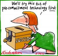 2012-01-18 Precommitment techology election Julia 500