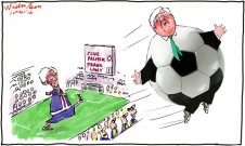 2012-03-01 Frank Lowy Clive Palmer A-League 650