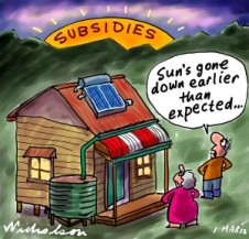 2012-03-01 Solar subsidies cut 300