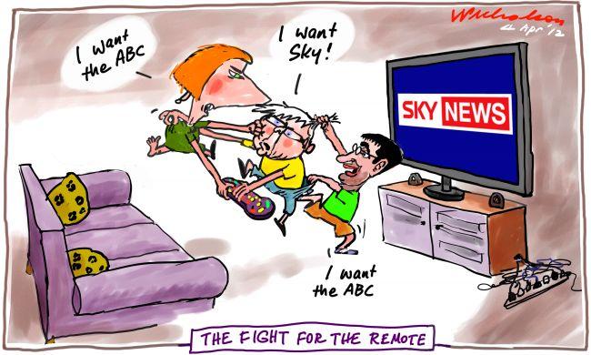 Australia Network Sky v ABC Conroy