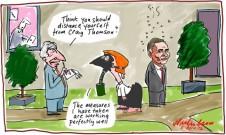 2012-04-05 Gillard distance Craig Thomson mask 650