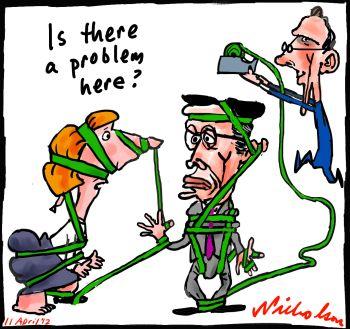 Green tape by Bob Brown Gillard Swan