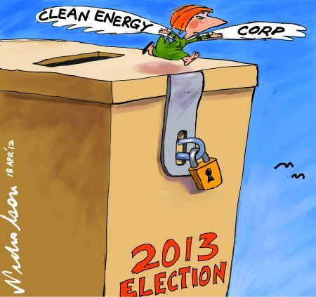 Gillard to activate Clean Energy Corporation for 2014 poll