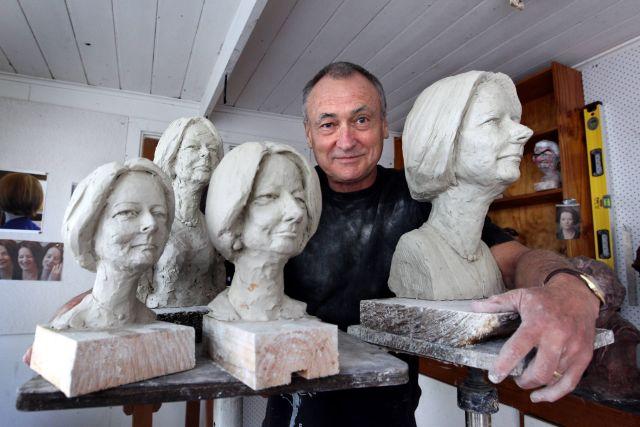 Julia Gillard sculpture maquettes Nicholson Ballarat Geraghty