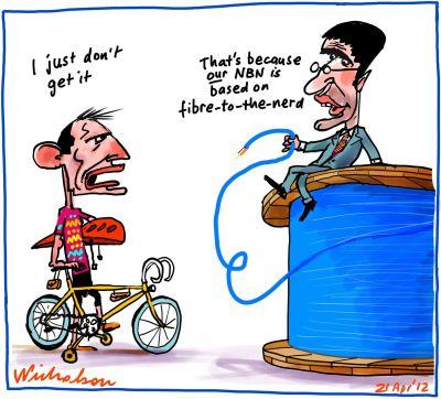 2012-04-21 Conroy explains NBN to Abbott fibre nerd