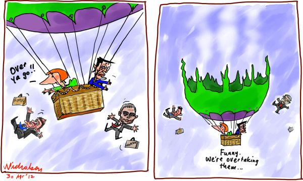 2012-04-30 Gillard ditches Slipper Thomas from balloon