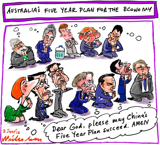 2012-05-02 Australia's Five Year Plan for the economy China boom