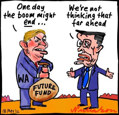 2012-05-18 Colin Barnett WA creates future fund Swan did not mining boom