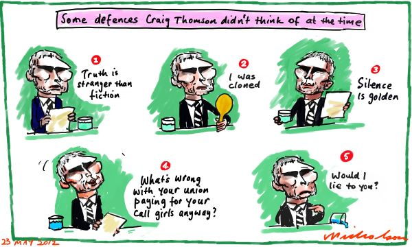 2012-05-23 Good defences Craig Thomson didn't think of in time