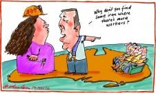2012-05-29 Paul Howes Gina Rinehart labour shortage at Roy Hill iron mine