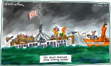 2012-06-28 asylum drownings push parliament to reassess offshore processing