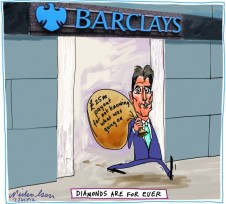 2012-07-07 Barclays' CEO Bob Diamond quits with payout of 25 million pounds