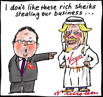 2012-07-20 Etihad bigger share of Virgin Qantas complains
