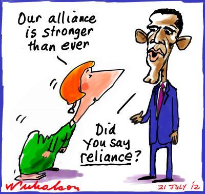 2012-07-21 USA criticises Australia Gillard defence cuts Obama reliance