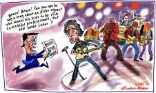 2012-08-02 Wayne Swan loves Bruce Springsteen's take on politics, asks for song