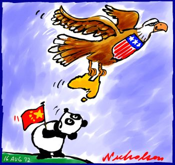 2012-08-6 US investment in Australia upstages its rival China
