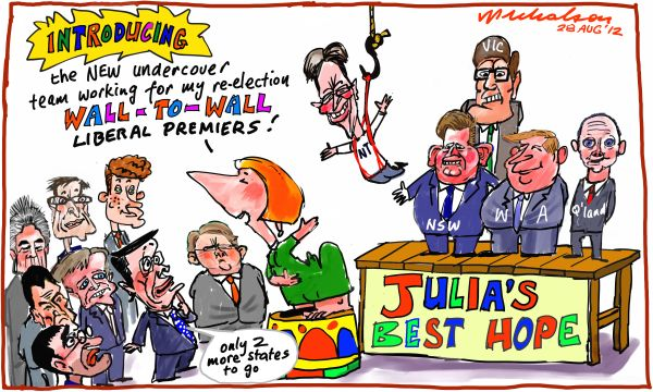 2012-08-28 Gillard strategy to highlight wall to wall Liberal premiers