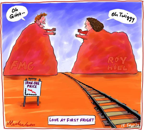 Twiggy Gina railway lov