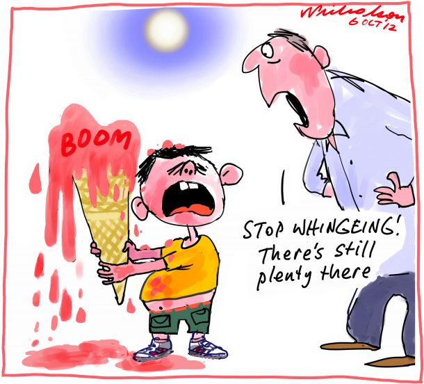 Cartoon Mining Boom not over with wise investment