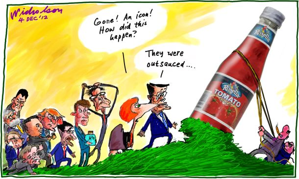 Rosella Tomato Sauce icon down gurgler recievership outsauce cartoon 2012-12-04