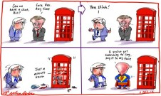 John Faulkner attacks faceless men factions Kevin Rudd slams Bill Shorten phone box cartoon 2012-12-06
