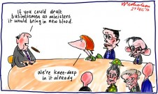 Draft businessmen for ministry cartoon 2012-12-27