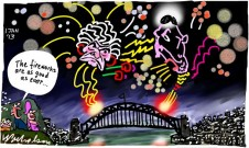 Keating Hawke spat archives fireworks cartoon 2013-01-01