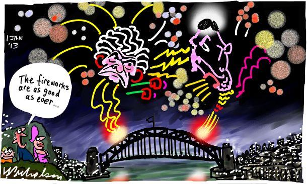 Keating Hawke spat archives fireworks cartoon 2013-01-01