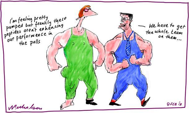 Performance enhancing drugs doping Are Julia Gillard and Wayne Swan on peptides  2013-02-08