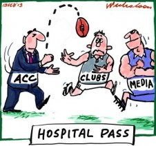 ACC hands clubs problem on drugs cartoon 2013-02-13