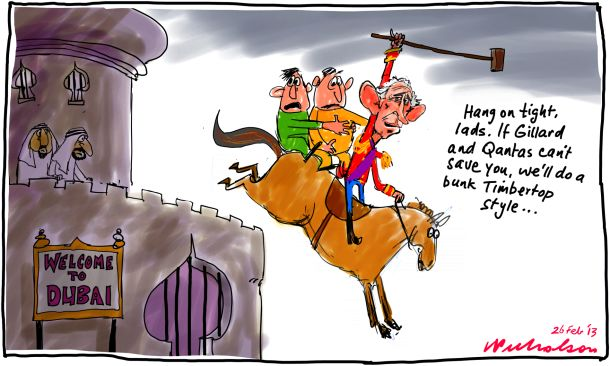 Prince Charles to rescue Dubai two Matthew Joyce cartoon2013-02-26