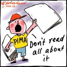PIMA role bigger than thought Don't read all about it 2013-03-15