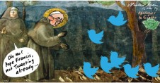 Pope Francis tweets unpublished rough 2013-03-15
