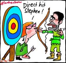 Conroy Gillard Media Regulation shoot foot cartoon 2013-03-21