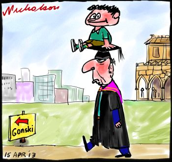 Gonski Gillard cuts unis money to pay for schools cartoon 2013-04-15