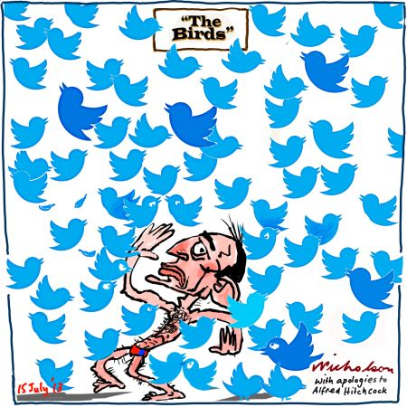 Twitter study show left wing bias in users bedevils Liberals cartoon 2013-07-15