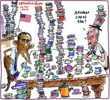 Debt default discussions tea party Obama Boehner 2013-10-12