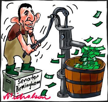 Senator Birmingham announces water auction for surplus water 2014-01-20