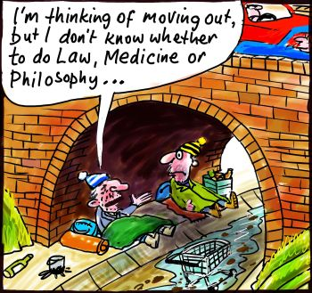 Labor homelessness housing finance scheme aids students not target cartoon 2014-03-03