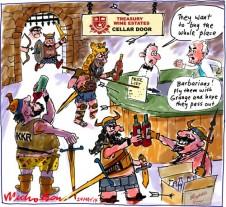 2014-05-24 KKR raid treasury Wines 500